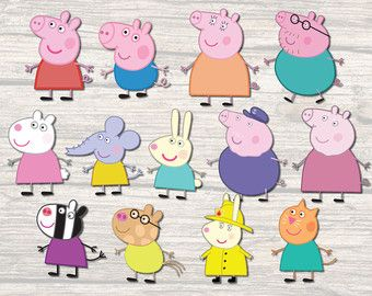 best peppa images. Clipart pig character