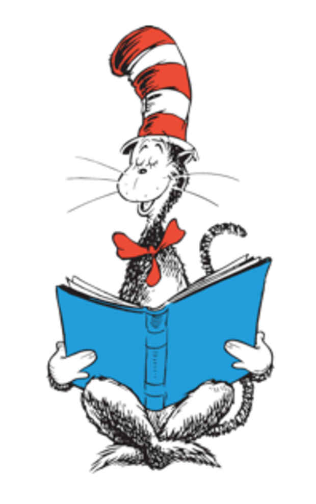 Nyab event theodor seuss. Character clipart reading