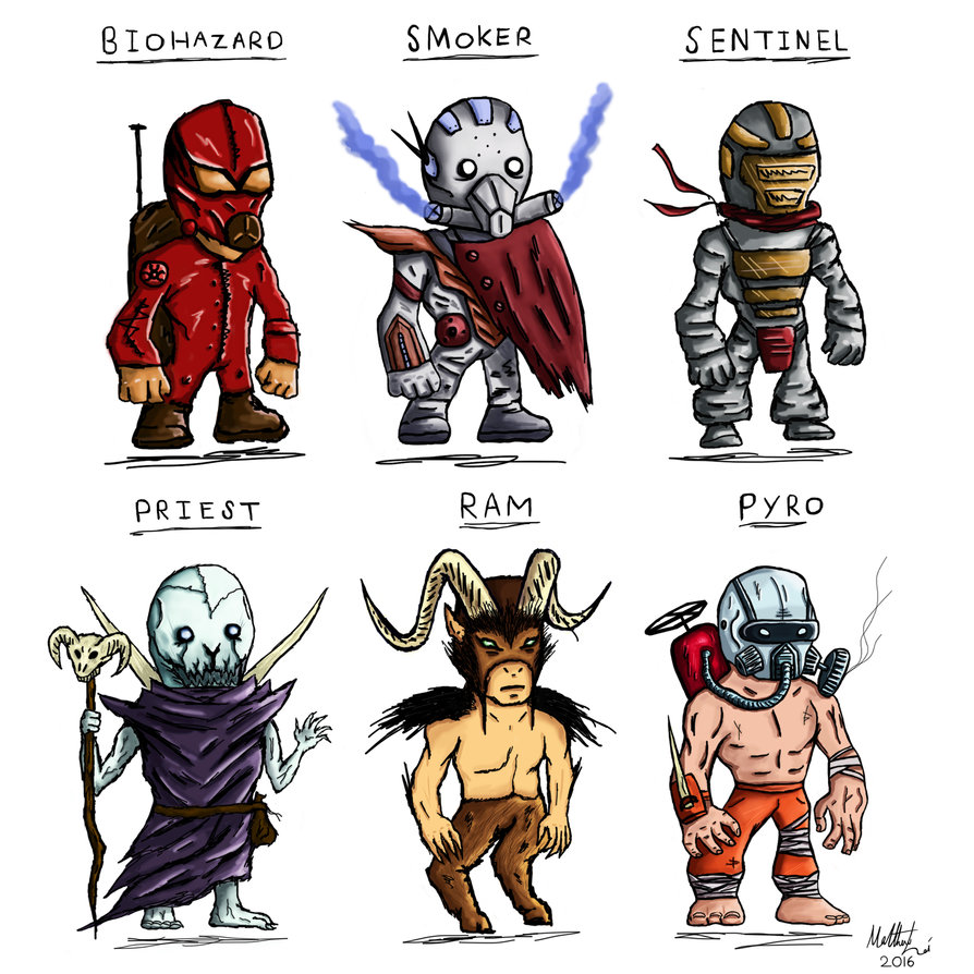 Cartoon stylized designs by. Character clipart sci fi