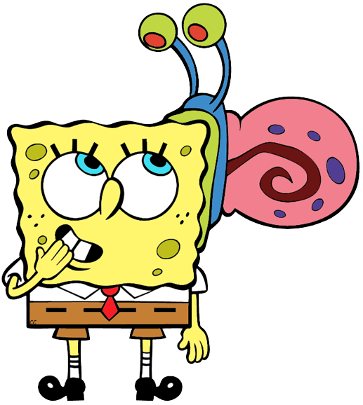 characters clipart spongebob