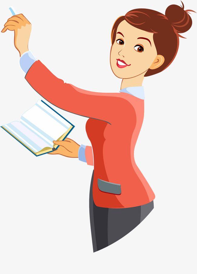 Textbook clipart teacher.  png