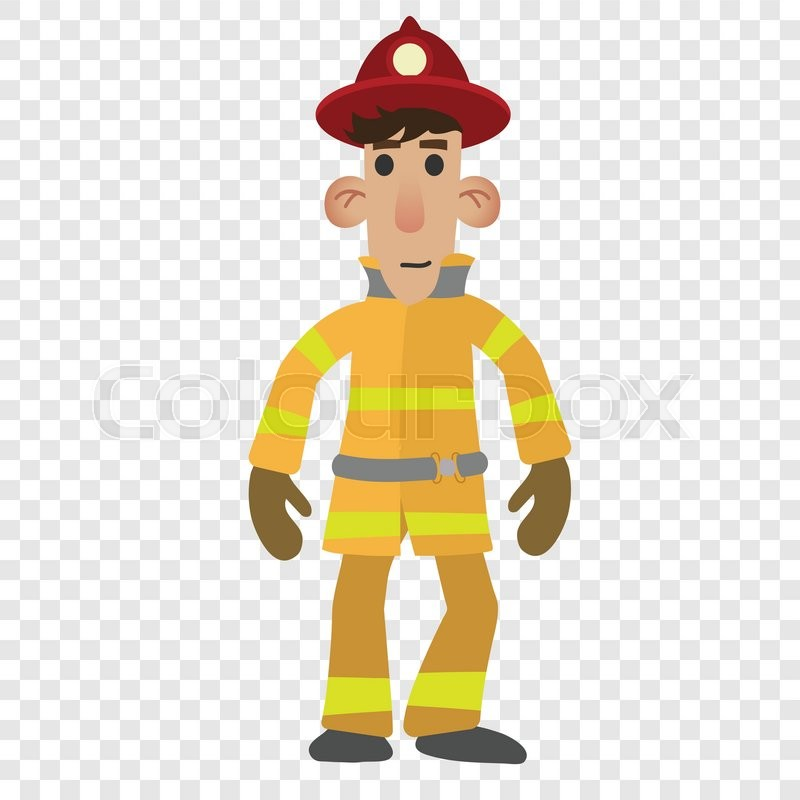 collection of firefighter. Character clipart transparent