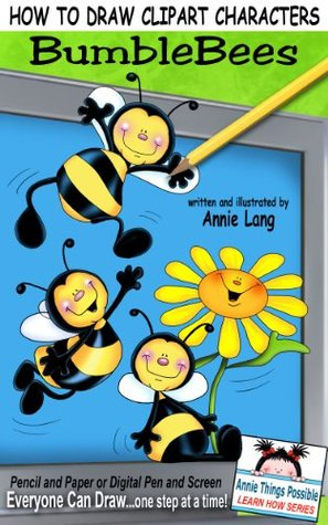 Characters clipart annie. How to draw bumblebees