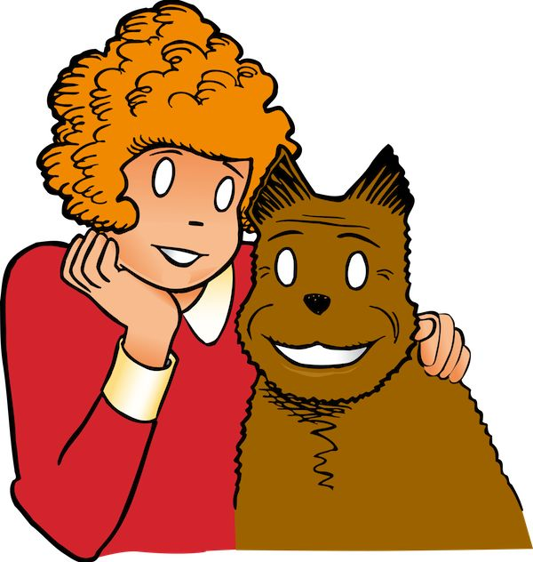 Characters clipart annie.  best little orphan