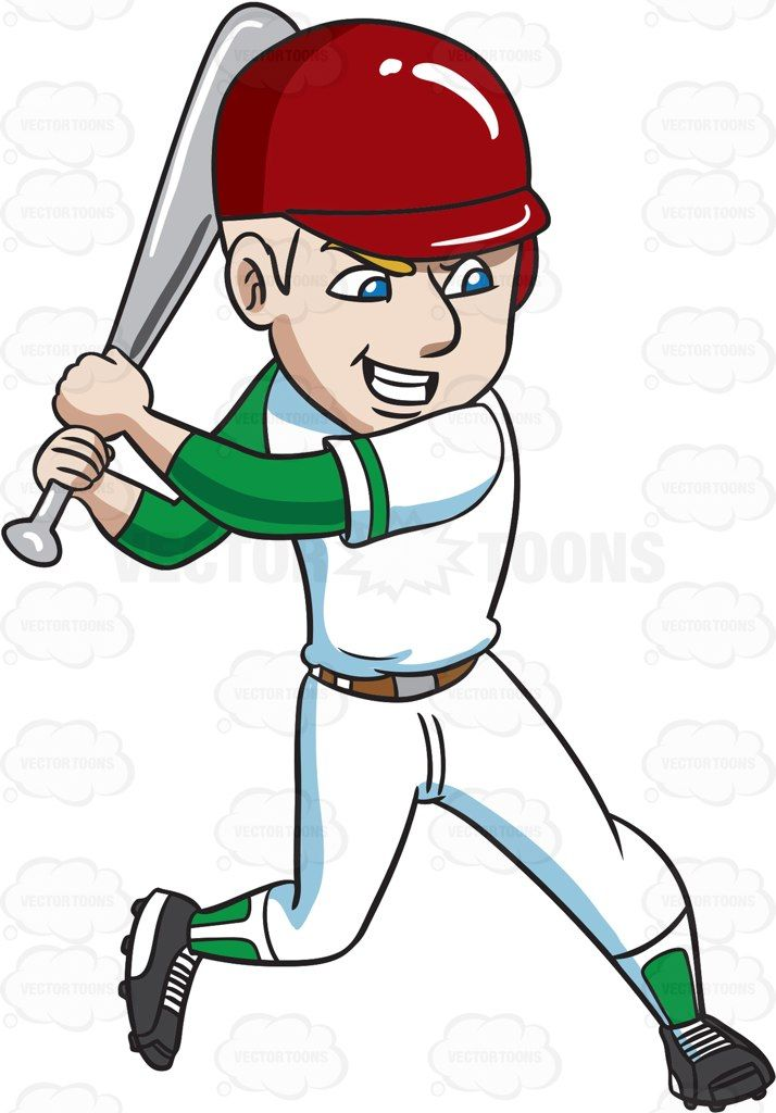 Bomb clipart baseball. A player about to