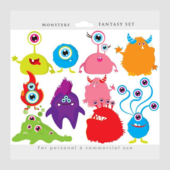 Aliens clipart baby. Monster monsters clip art