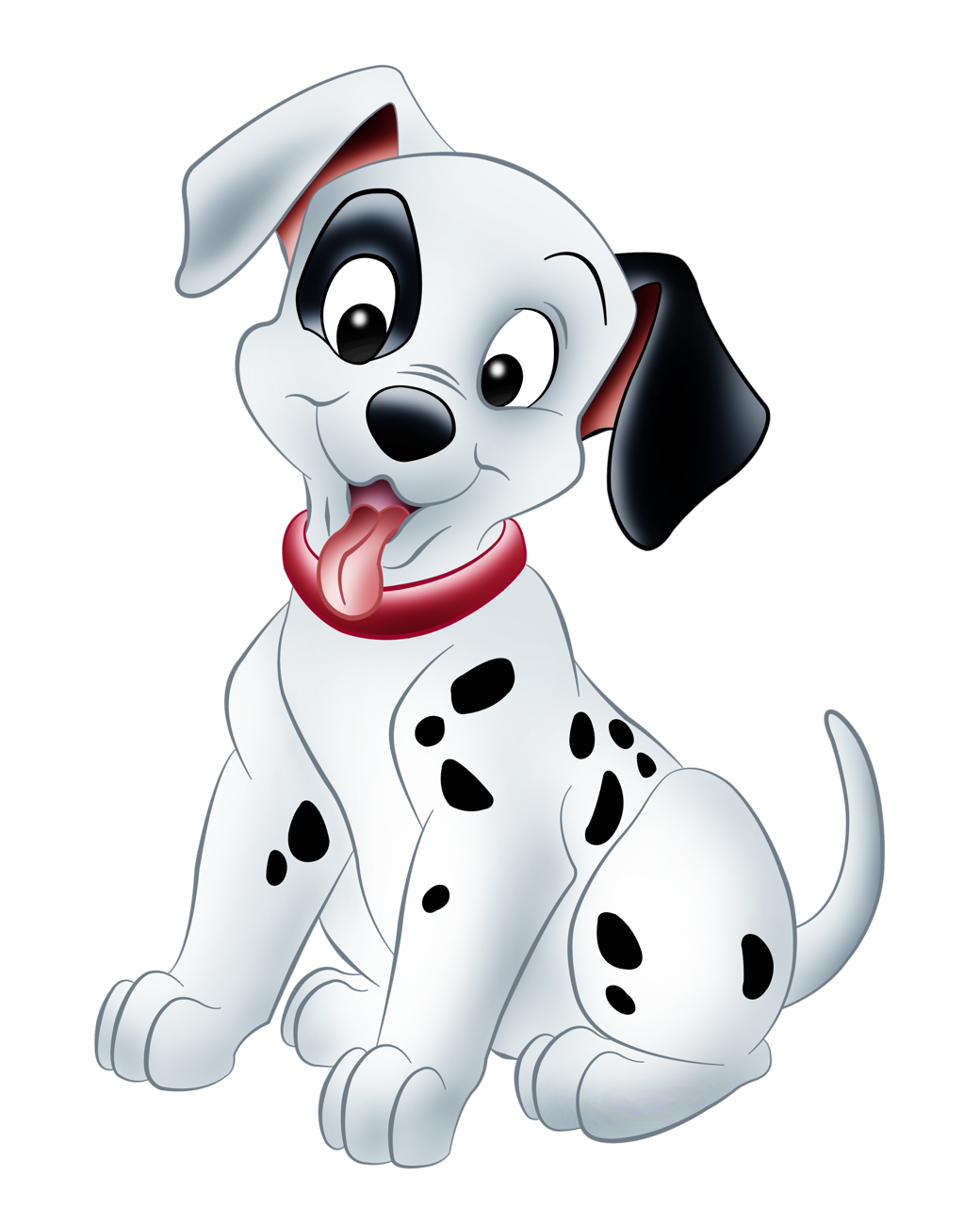 Dalmatians png picture cartoon. Clipart winter puppy
