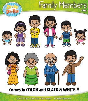 Latino family characters zip. Grandma clipart hispanic