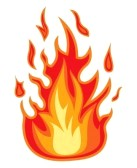Characters clipart flame. Image realistic fire flames