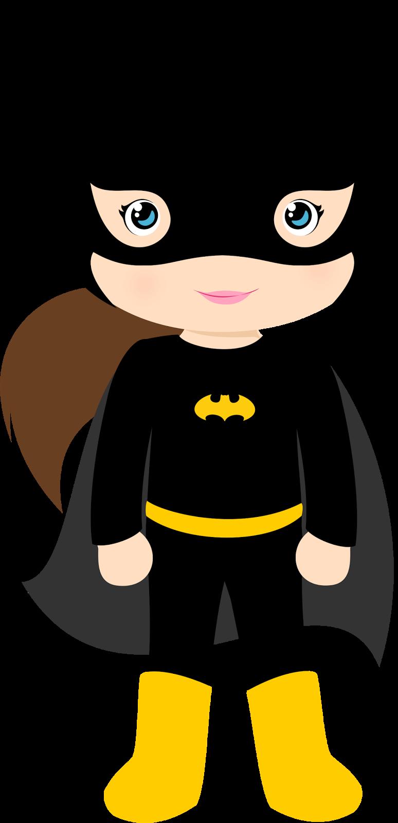 Characters clipart hero. Of batman kids version