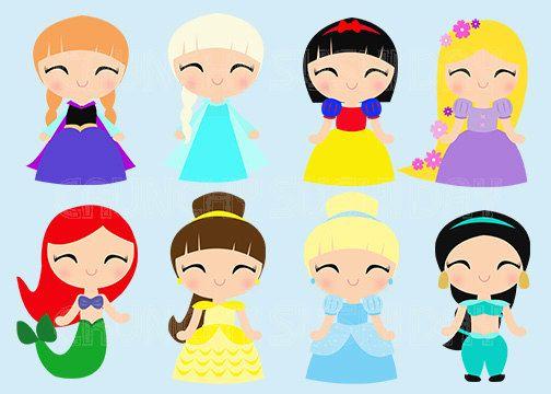 characters clipart kawaii