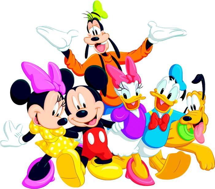 Free main character cliparts. Disney clipart printable