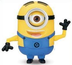 Characters clipart minions. Free minion tags cartoon