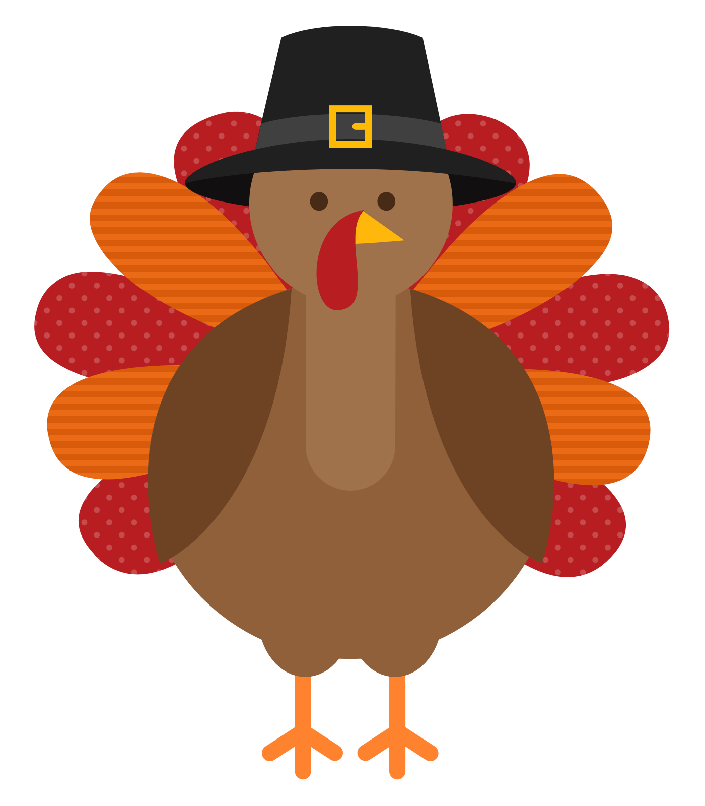 Turkey transparent stickpng. Thanksgiving png images