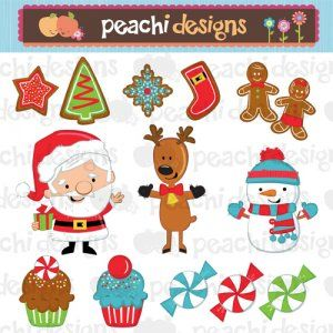 best christmas images. Characters clipart xmas
