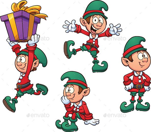 Elf christmas instant by. Characters clipart xmas