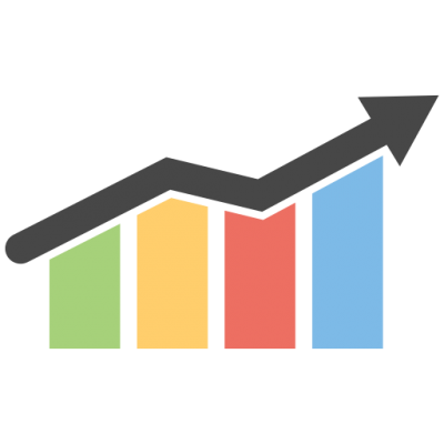 Download business growth chart. Graph clipart