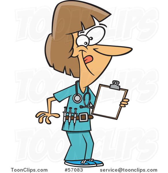 Cartoon energetic white female. Chart clipart clipboard