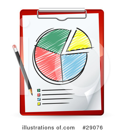 Chart clipart clipboard. Pie illustration by beboy
