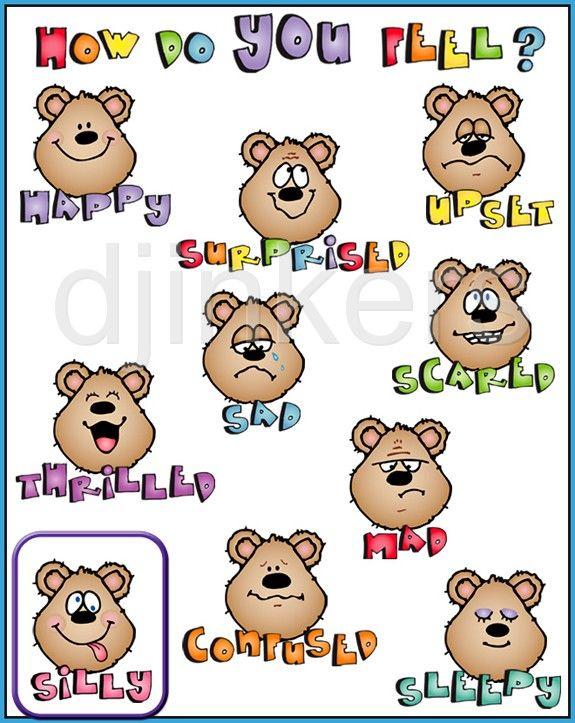 How do you feel. Chart clipart cute