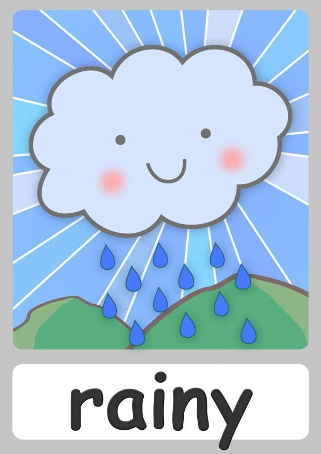 Free weather flashcards for. Chart clipart cute
