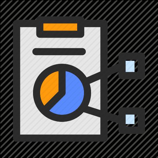Iconfinder management filled line. Chart clipart data handling