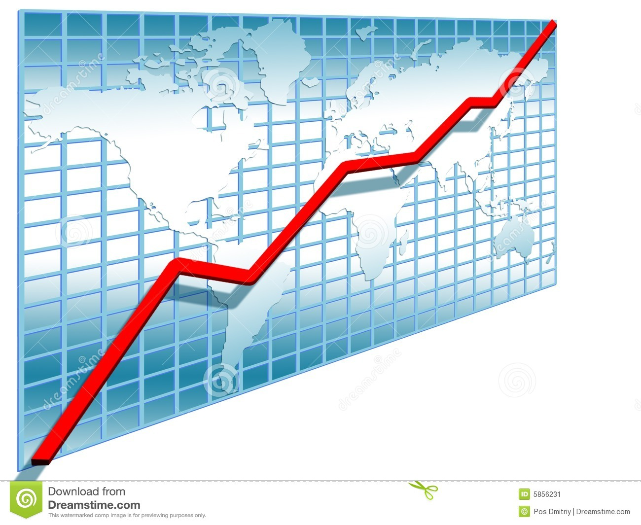 Stock line . Chart clipart diagram
