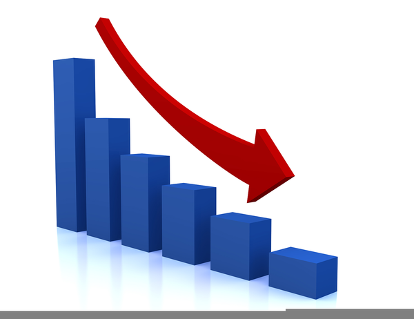 Chart clipart downward. Graph free images at