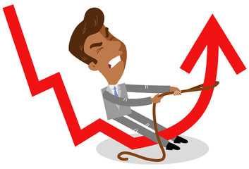 Chart clipart downward. Search photos vector illustration
