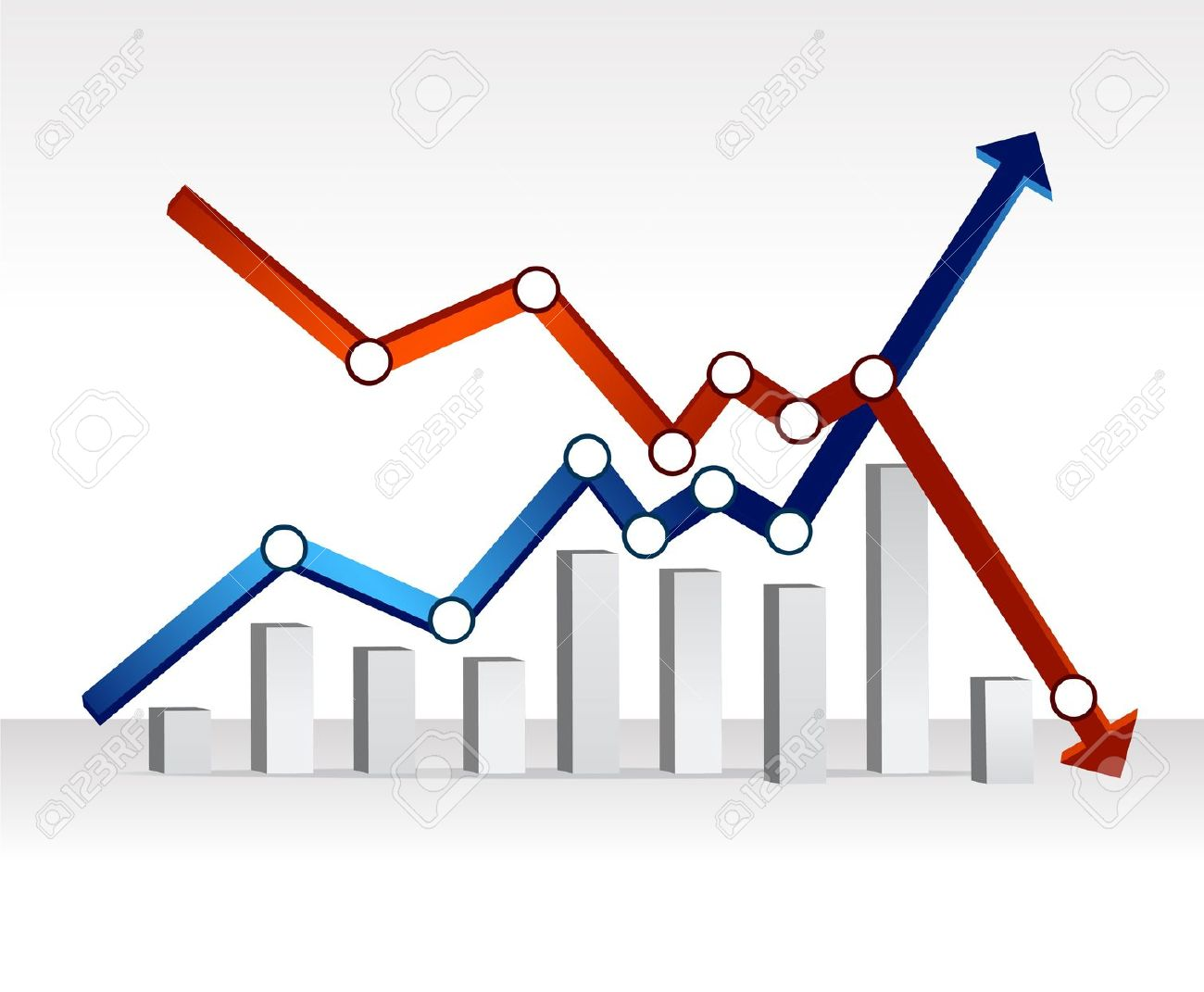 Financial graphs graphically speaking. Graph clipart economics graph