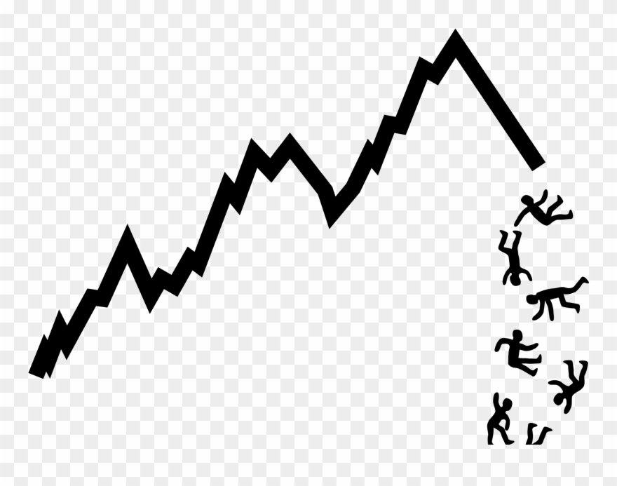 Big image simple stock. Chart clipart finance chart