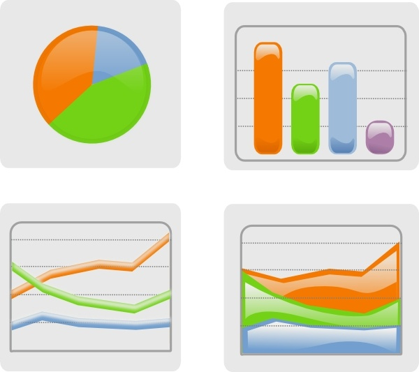 Graphs clip art free. Chart clipart graphing