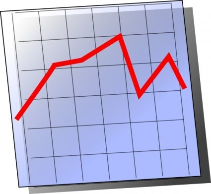 Chart clipart graphing. Free graph and vector