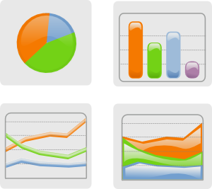 Graph clip art at. Chart clipart graphing