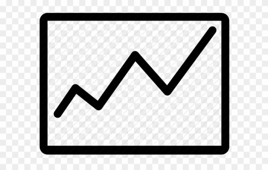 Graph clipart diagram. Stock market chart png