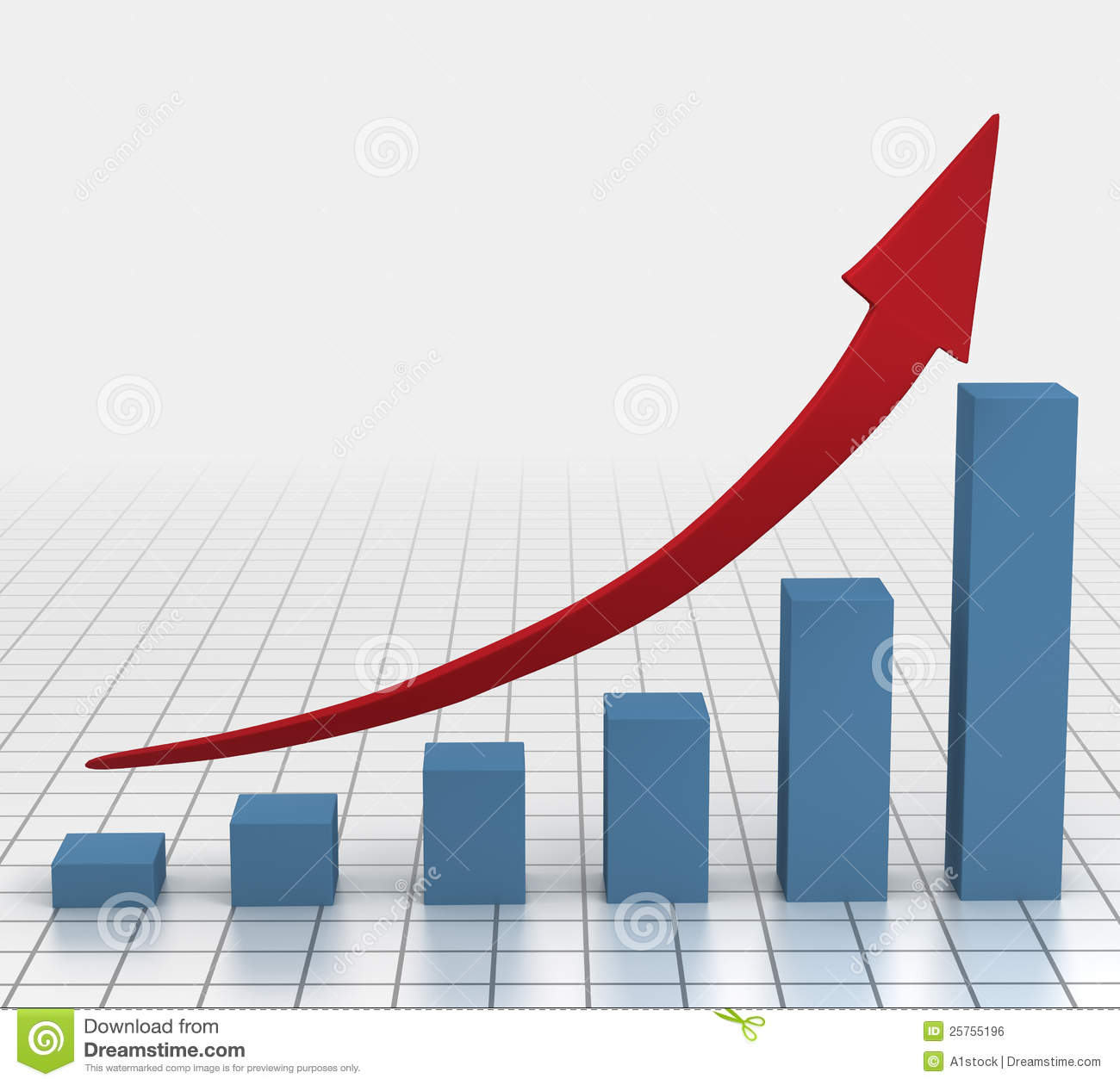 Increase . Chart clipart growth