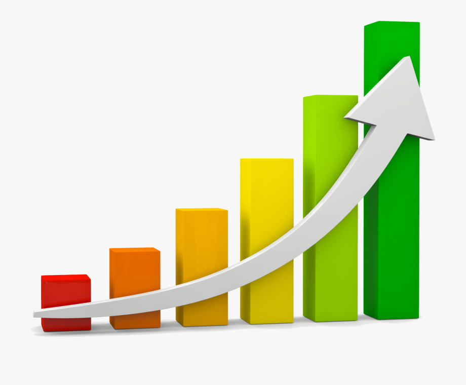 Chart clipart growth. Bar of a function