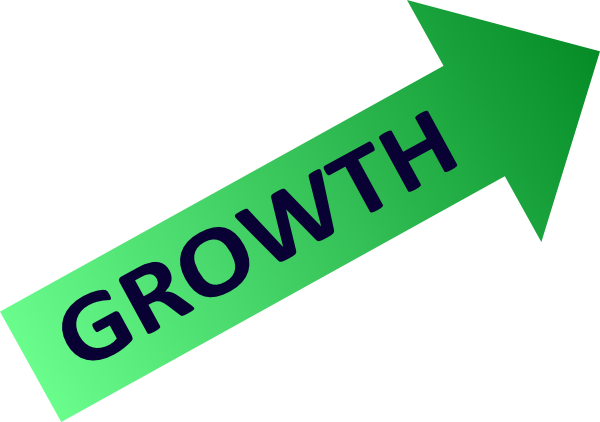 chart clipart growth rate
