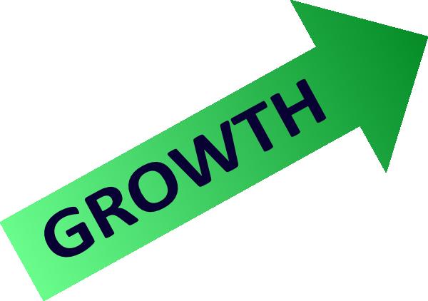 Chart symbol clip art. Growth clipart