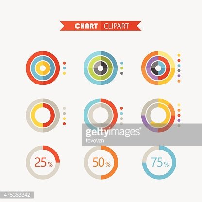Chart clipart infographic. Graphic business ratings and