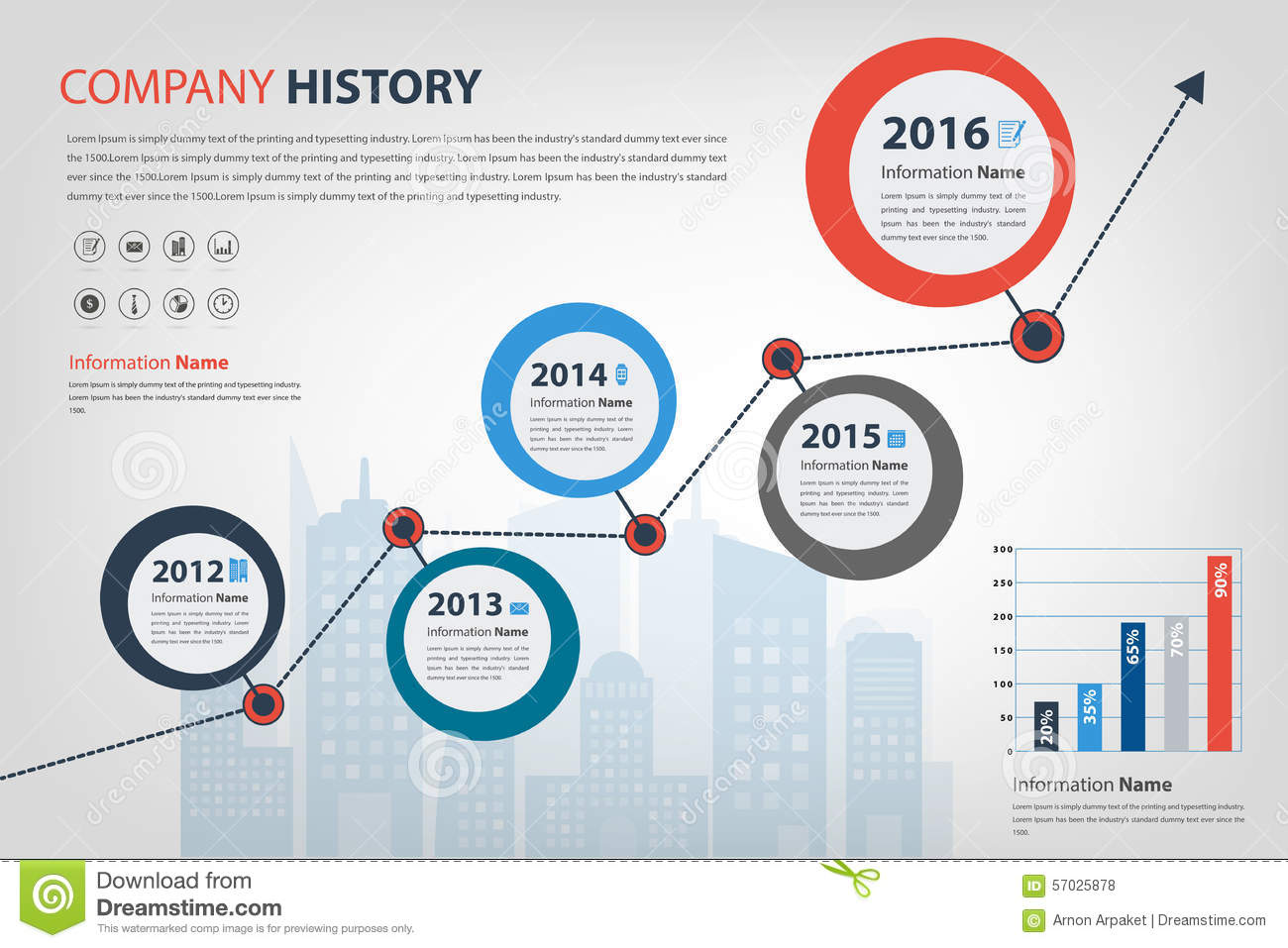 Milestone pencil and in. Chart clipart infographic