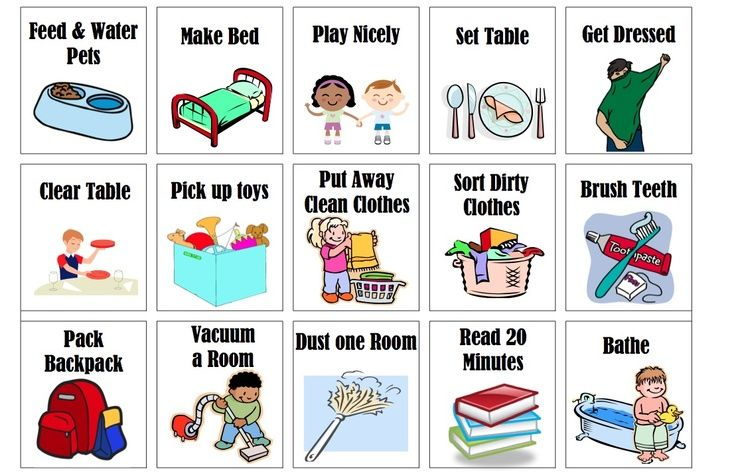 Chores images of toddler. Chart clipart kid