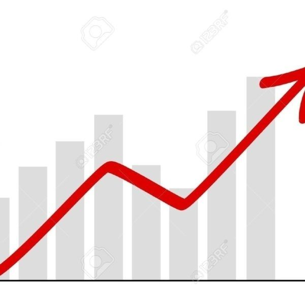 Arow pencil and in. Chart clipart line graph