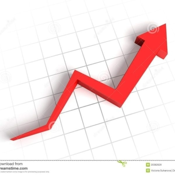 Chart clipart line graph. Going up clip art