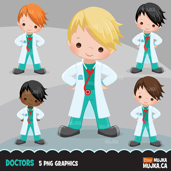 Doctor little boy graphics. Chart clipart medical