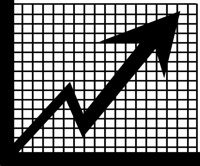 Chart clipart money chart. Stock market up various
