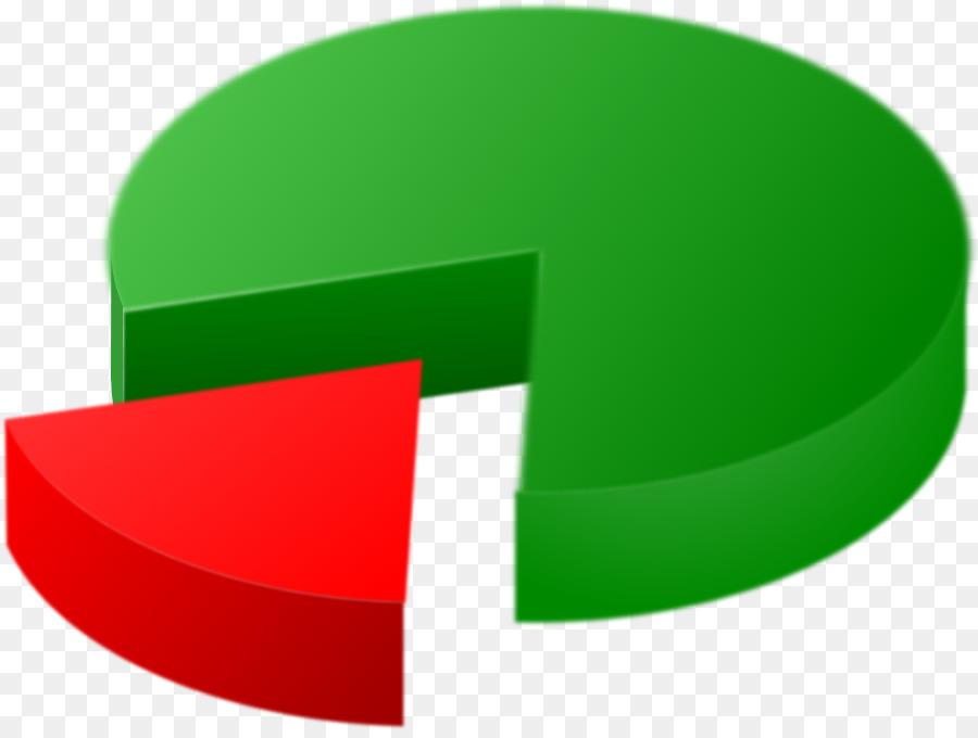 Chart clipart pie chart. Line clip art green