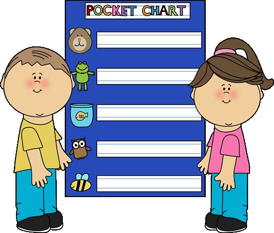 Clip art vector image. Chart clipart pocket chart