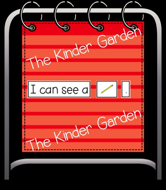 Chart clipart pocket chart. The kinder garden time
