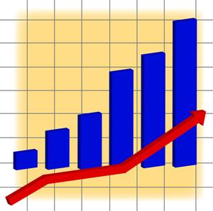 Clip art chart . Arrows clipart graph